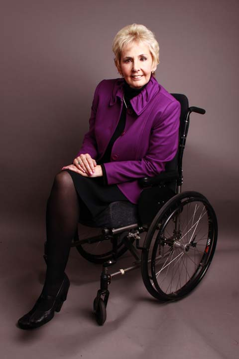 An image of Finding herself wheelchair bound made Gina take a long, hard look at how to get things done. goes here.